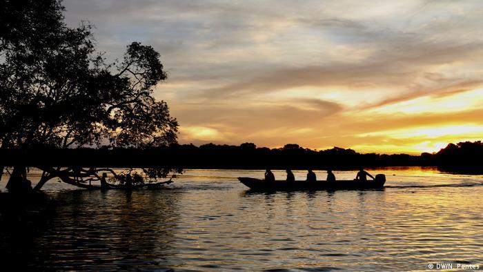 O rio Xingu: indígenas temem efeitos também do aquecimento global