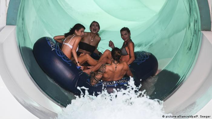 Germany Indoor water world Rulantica opened in Rust (picture-alliance / dpa / P. Seeger)