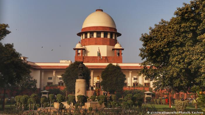 Six Indian Supreme Court judges struck by swine flu | News | DW ...
