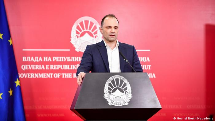 Venko Filipce Gesundheitsminister Nordmazedoniens (Gov. of North Macedonia )