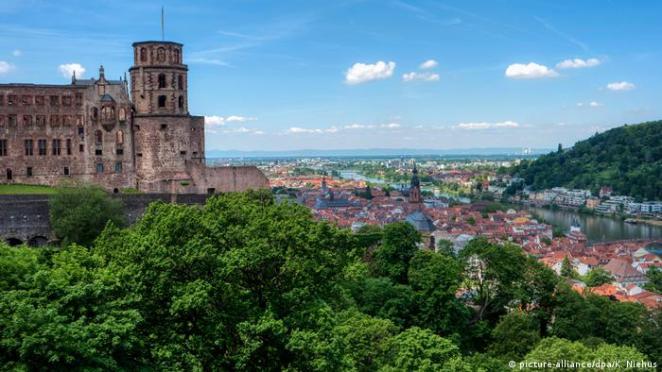 Germany | Tourism and Corona | Heidelberg (picture-alliance / dpa / K. Niehus)