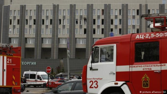 Russia: Ventilator fire in St. Petersburg hospital kills COVID-19 ...