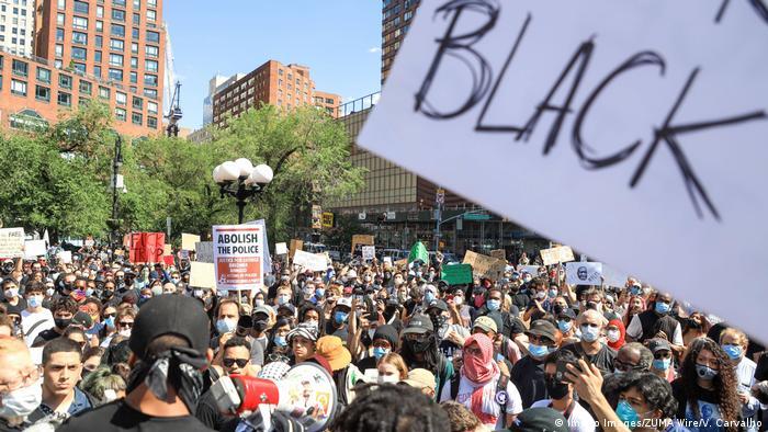 USA New York Proteste nach dem Tod von George Floyd in Minneapolis