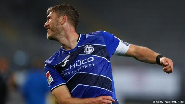 Arminia Bielefeld top scorer Fabian Klos (Getty Images/M. Rose)