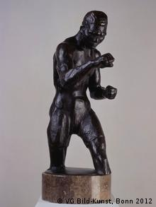 Rudolf Bellings 1929 sculpture of Max Hemming