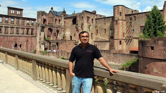 Md. Asgar Hossain, a Bangladeshi student of Kassel University in Kassel, Germany.Bild: Md Asgar Hossain, privatzugeliefert von Md Asgar Hossain 10/2012