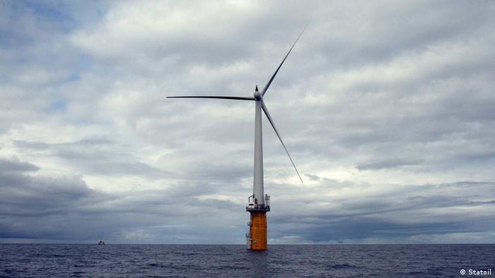 Novas tecnologias levam turbinas eólicas para o alto mar