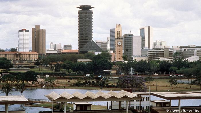 Jomo Kenyatta Center and Kenyan parliament in Nairobi