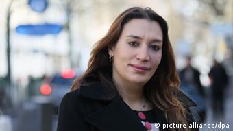 Semiya Simsek, hija de la primera de las víctimas, Enver Simsek.