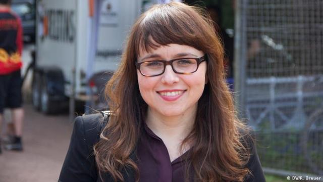 Cemile Giousouf, CDU-Bundestagskandidatin, Wahlkreis Hagen. Copyright: DW/Rayna Breuer