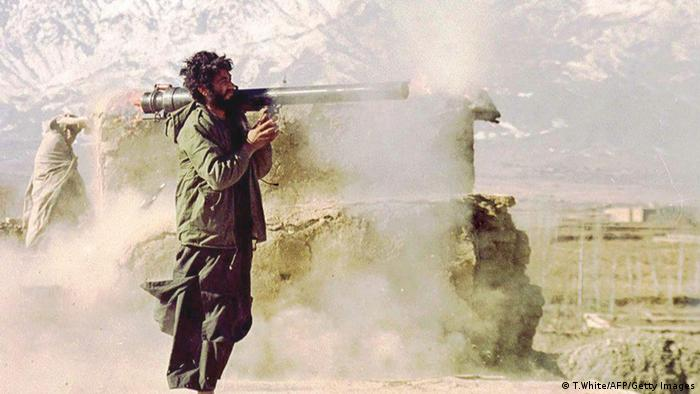 Taliban-Kämpfer in Afghanistan (Foto: TERENCE WHITE/AFP/Getty Images)