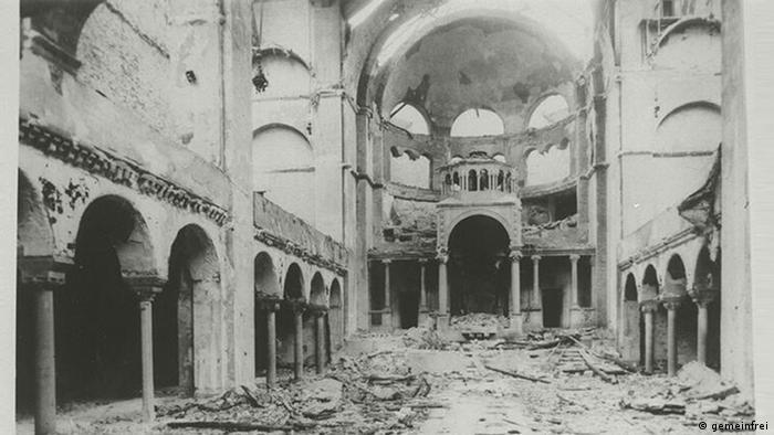 Die Synagoge in der Fasanenstrasse Berlin 1938