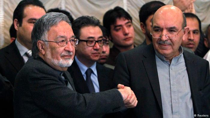 (Kajum Karsai und Salmai Rassul Foto: Reuters)