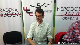 Željko Stanetić, direktor Vojvođanskog građanskog centra