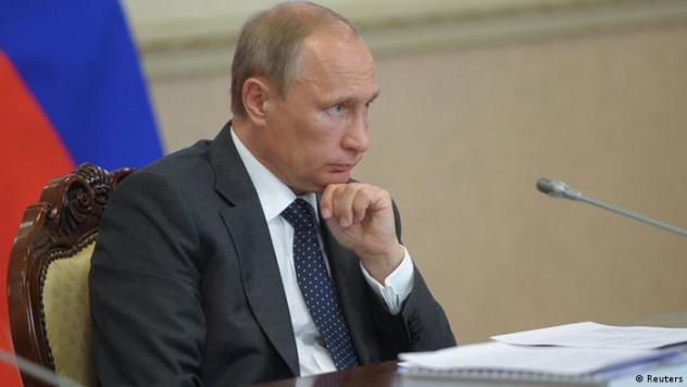Russland Präsident Wladimir Putin 5.8.2014