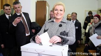 Kolinda Grabar-Kitarović daje svoj glas
