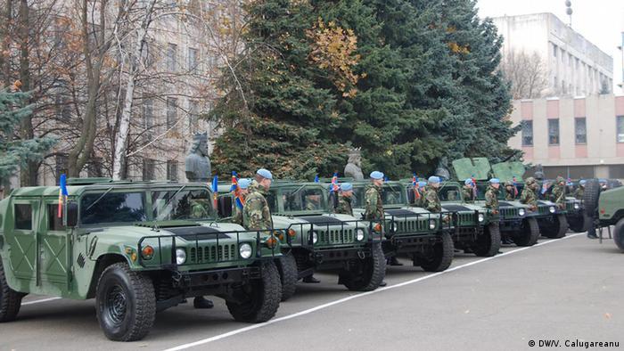 Американская техника, поступившая в Молдавию в рамках военной помощи