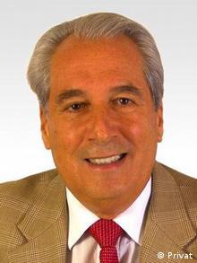 El empresario alemán Peter Michael Schirrmann, director de la firma hamburguesa Delatrade.