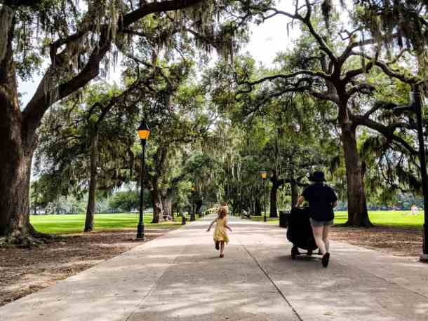Forsyth Park is magical