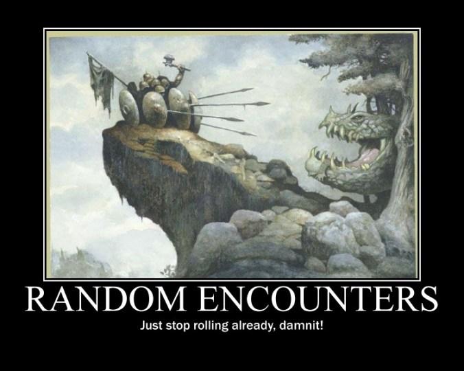 Resultado de imagem para random encounter