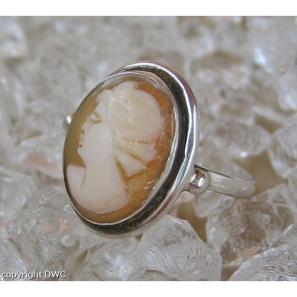 Gemmenring Silberring Ring mit Gemme Frau Fingerring Antik