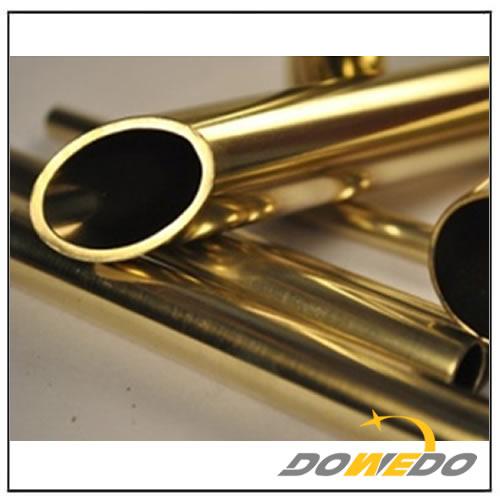Oval Brass Tubing