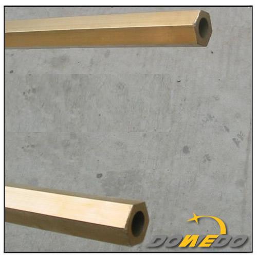 China Brass Hexgonal Tubing