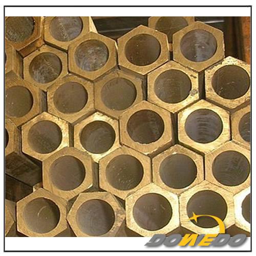 Hex Brass Round Tubing