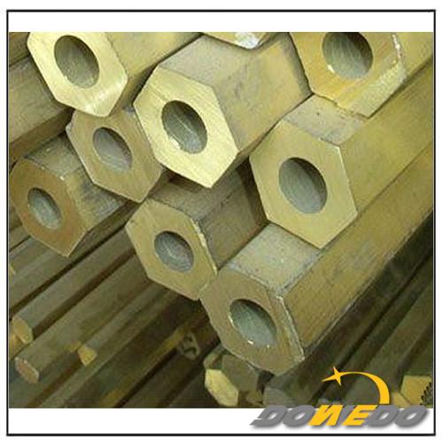 Hexagonal Brass Tubing