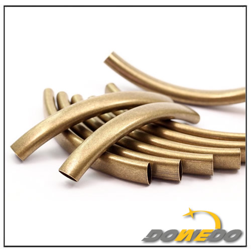 Jewelry Oval Antique Brass Tube