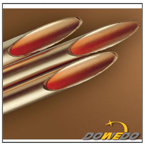 Inner Grooved Pancake Coil Copper Pipe