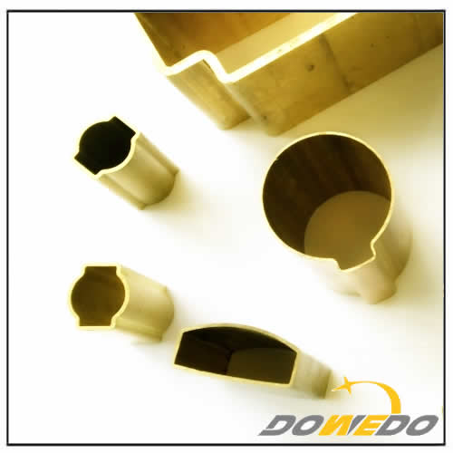 Hard Drawn Special Shaped Brass Tube