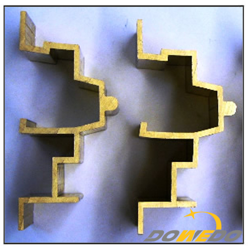 Brass Extruding Door Frame Rail