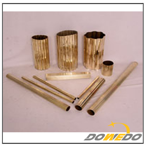 Pure Copper Fluted Tubing