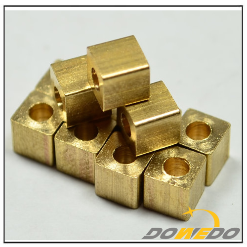 Square Brass Cube Stamping