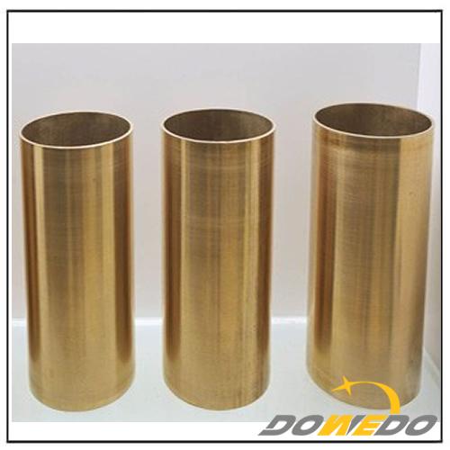Straight brass pipe