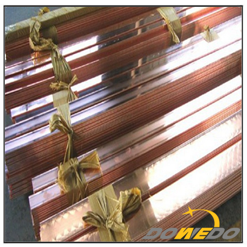Copper Flat Earthing Bar