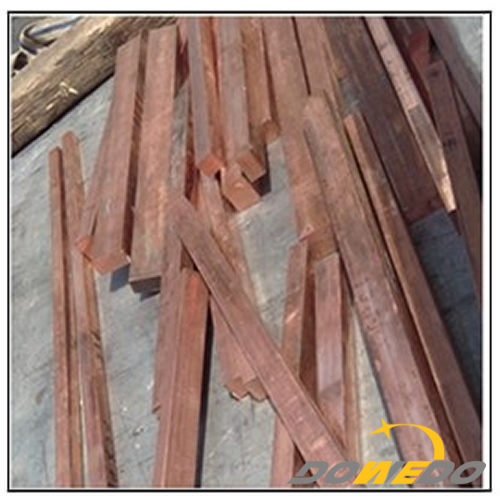 Rectangular Mill Finish Copper Bar