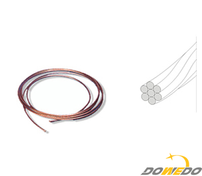 Bare Stranded Copper Conductors Brass Tubes Copper Pipes