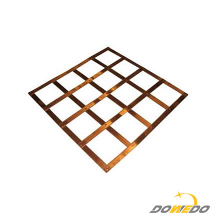 Lattice Copper Earth Mats