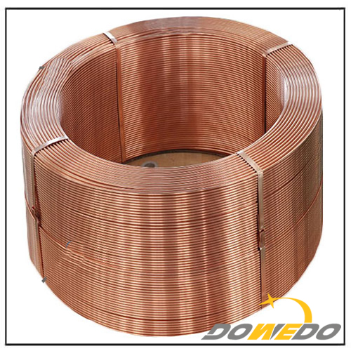 Heat Exchanger Copper Tube Coil 0.2 to 2mm
