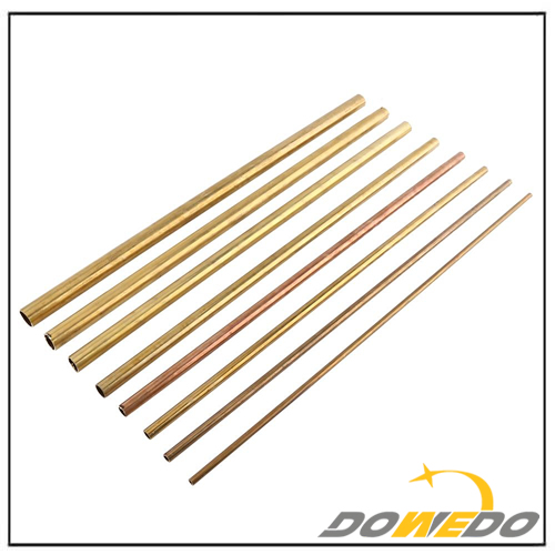 Brass Tube Pipe Tubing Round Outer Diameter 0.6-2cm