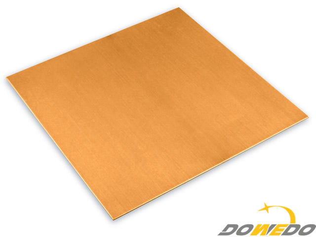 Copper Sheet 100x100x0.7mm