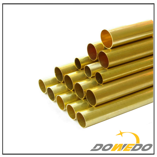 Seamless Brass Straight Pipe