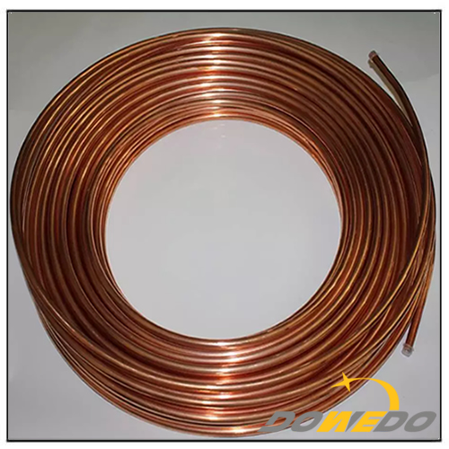 Seamless Pancake Coil Copper Tube