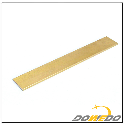 Brass Flat Rectangle Bar C360