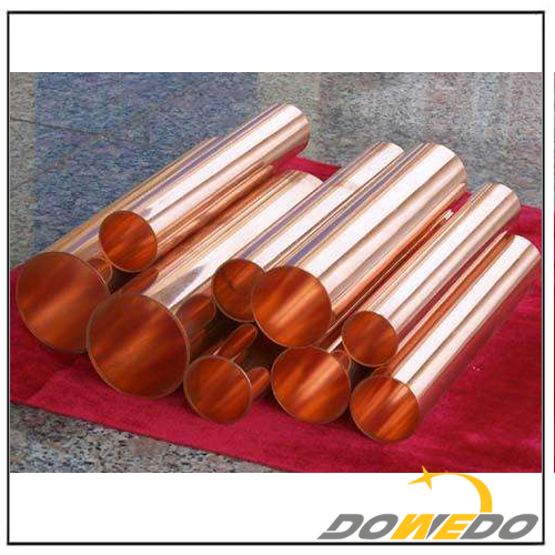 Red Copper Pipe for Transportation System