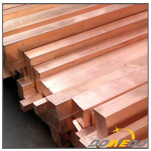 Square Bar Copper for Machinery Manufacturing Industry