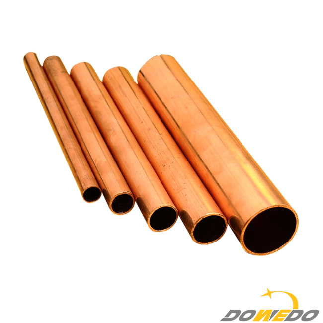 China Factory Alloy Single Copper Tube Manufacturer