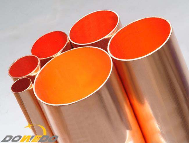 Industrial Copper Tubes Range